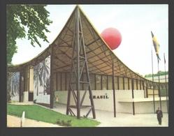 Exposition Universelle / Wereldtentoonstelling Expo 58 - Petit Format 9,9 X 7,4 Cm - Brésil / Brazilië - Expositions Universelles