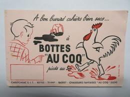 """Buvard : Bottes """"AU COQ"""" Pieds Au Sec - Chaussures"""
