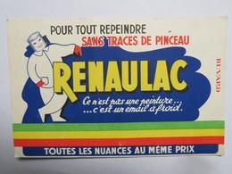 """Buvard : """"RENAULAC"""" Pour Tout Repeindre Sans Traces - Peintures"""