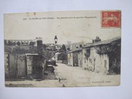 CPA    85 LA ROCHE-sur-YON Vue Générale Prise Du Quartier D'Equebouille Animée 1910 TBE - La Roche Sur Yon