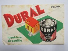 """Buvard : """"DURAL"""", La Peinture De Qualité - Peintures"""