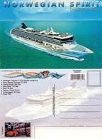 POSTAL DEL CRUCERO NORWEGIAN SPIRIT. (276) - Schiffe