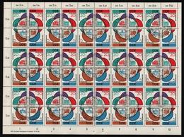 DDR 1962 - Mi-Nr. 901-904 Gest / Used - SST - Formnummer 2 - ZDR-Bogen - DDR
