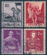 339-342/683-686 - Historische Bilder (Papieränderung) - Sauber Gestempelt - Usados
