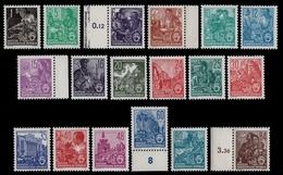 DDR 1953 - Mi-Nr. 405-422 ** - MNH - Fünfjahrplan II - Ungebraucht