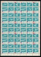 DDR 1962 - Mi-Nr. 907-912 ** - MNH - Formnummer 2 - ZDR-Bogen - DDR