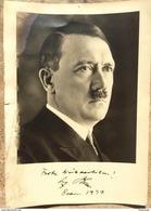 Militaria WW2 -  Autograph Adolf Hitler - 1939-45