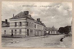 80 - MOLLIENS VIDAME - LE BUREAU DES POSTES - 1918 - Francia