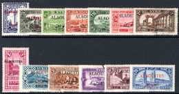 Alaouites 1925-30 Set Mixed Lighlty Mounted Mint And Fine Used. - Alaouites (1923-1930)