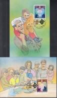 UNO GENF 243-244, 2 Private Maximumkarten, Internationales Jahr Der Familie 1994 - Maximum Cards