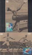 UNO WIEN 214-215, 2 Maximumkarten Nr. 45+46, 100 Jahre Olympische Spiele Der Neuzeit 1996 - Maximumkarten