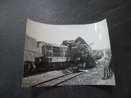 Environ De BESANCON 25 - Accident Locomotive SNCF BB 66149 Le 27/09/1974 - Treinen