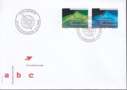 SCHWEIZ Dienst  UIT/ITU  16-17, FDC, Telelernen Und Telemedizin, 1999 - Dienstpost