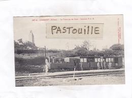 CPA : 14 X 9  -  447  Bis.  CHAMARET  -  Le Tramway En Gare -  Jonction  P. L. M. - Autres Communes