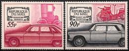 [828045]Mali 1969 - PA71/72, Renault 16 Et '1898' + Peugeot 404 Et '1893', Voitures, SC - Mali (1959-...)