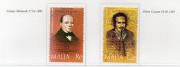 Malta - 1985 - Celebrità - 2 Valori - Nuovi - Vedi Foto - (FDC14112) - Malta