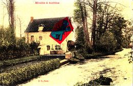 Moulin à Turbine - Carte Colorée - Postcards