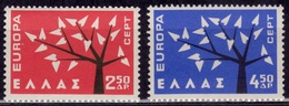 Greece 1962 EUROPA - CEPT, Sc#739-740, MNH - Greece