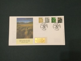 GB 2003 N.Ireland Pictorials (4vals) FDC, PO Cover, Belfast SpeciaI Postmark - FDC
