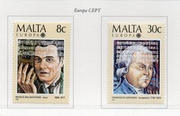 Malta - 1985 - Europa CEPT - Anno Europeo Della Musica -  2 Valori - Nuovi - Vedi Foto - (FDC14115) - Malta
