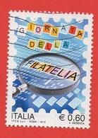 2010 (3205) Giornata Della Filatelia - Leggi Il Messaggio Del Venditore - 2001-10: Afgestempeld