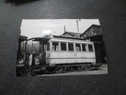 ROUEN 76 - Tramway De Rouen Au Dépôt - Troisième Cliché - Treinen