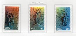 Malta - 1985 - Natale -  3 Valori - Nuovi - Vedi Foto - (FDC14117) - Malta