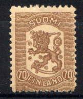 FINLANDE - 88** - LION HERALDIQUE - Unused Stamps