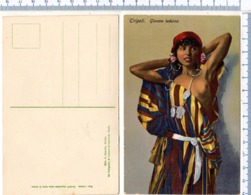 Cartolina Circa 1935 -  Tripoli DONNA BEDUINA  - AFRICA - Libia