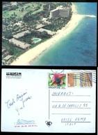 INDONESIA - SANUR - BALI - ANNI 70-80 - CARTOLINA HOTEL BALI BEACH - Indonesia