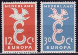 Netherlands 1958, CEPT, Europa, Sc#375-76, MNH - Period 1949-1980 (Juliana)