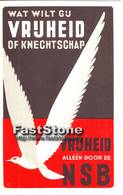 Propaganda Kaarten NSB - Niederlande