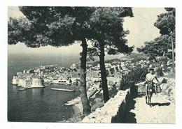 CPSM DUBROVNICK - Attelage Âne - Timbre Jugoslavija - Non Voyagée - Croatia