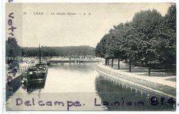 83 - LILLE - La Haute Deûle  - Péniche, Canal, Coins Ok, Non écrite, TTBE, Scans - Lille