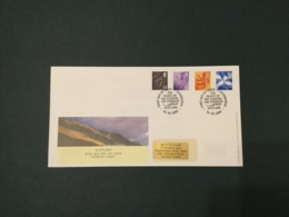 GB 2003 Scotland Pictorials (4vals) FDC, PO Cover, Edinburgh SpeciaI Postmark - FDC