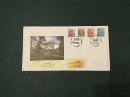 GB 2003 England Pictorials (4vals) FDC, PO Cover, London SpeciaI Postmark - FDC