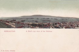GIBRALTER - BIRDS EYE VIEW OF THE HARBOUR - Gibraltar