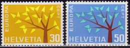 Switzerland 1962,  CEPT, EUROPA, Sc#416-417, MNH - Switzerland