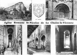 85 - La Chaize Le Vicomte - L'église Romane (XIe S.) - La Chaize Le Vicomte