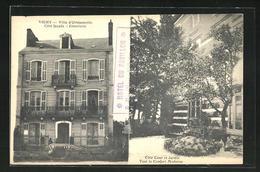 CPA Vichy, Villa D`Orleansville, Cote Facade - Electricite - Vichy