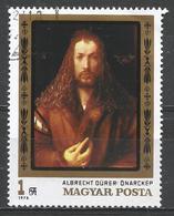 Hungary 1979. Scott #2559 (U) Albrecht Dürer (1471-1528) German Painter: Self-portrait * - Hungary