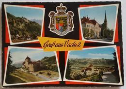 Gruss Aus Vaduz - Furstentum Liechtenstein -  Vg - Liechtenstein