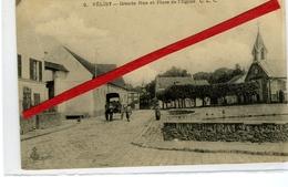 VELIZY - Grande Rue Et Place De L'Eglise - Velizy