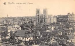 BRUXELLES - Eglise Sainte Gudule  Et Panorama - Panoramische Zichten, Meerdere Zichten