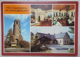 """Netzschkau - Gaststätte """"Kuhbergbaude""""  (Kr. Reichenbach)  - Nv DDR  G2 - Germania"""