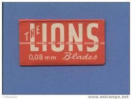 Une Lame De Rasoir THE LIONS (L113) - Scheermesjes