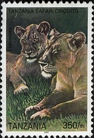Tanzania/Tansania 2005: Lion/Löwe **/MNH - Tanzanie (1964-...)