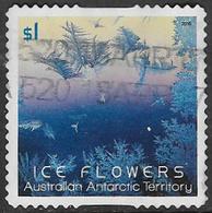 Australian Antarctic Territory 2016 Ice Flowers $1 Type 1 Self Adhesive Good/fine Used [39/31913/ND] - Australian Antarctic Territory (AAT)