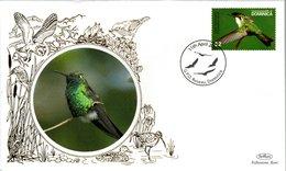 DOMINICA,   BENHAM  FDC,  Bird     /     DOMINIQUE,     Lettre De Première Jour,  Oiseau   2007 - Segler & Kolibris