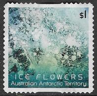 Australian Antarctic Territory 2016 Ice Flowers $1 Type 2 Self Adhesive Good/fine Used [39/31914/ND] - Australian Antarctic Territory (AAT)
